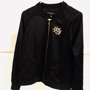 Victoria Beckham women's fashion zip up jacket